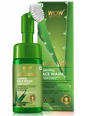 WOW Skin Science Aloe Vera Foaming Face Wash