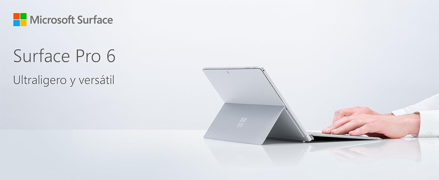 Surface Pro 6 Platino