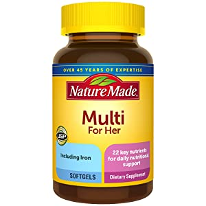 Nature Made Women Multivitamin Softgels