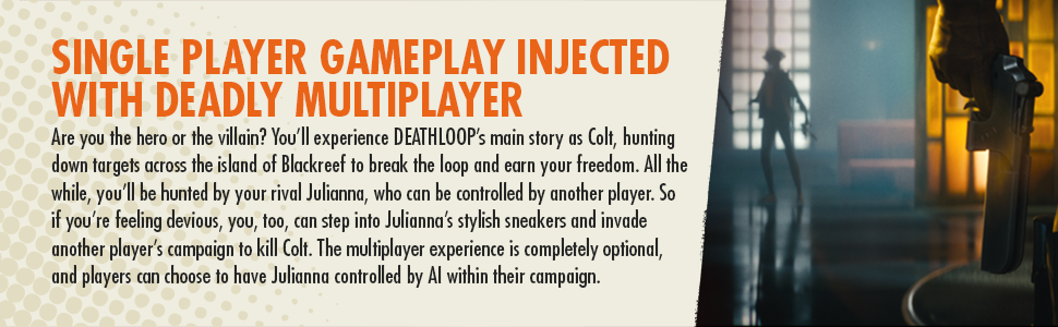 Single multiplayer gameplay injected with deadly multiplayer