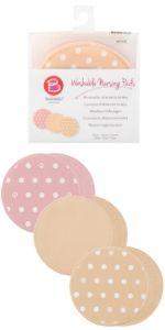 reusable nursing pads, breast pads, cotton pads
