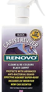 Renovo 400ml Carpet Reviver Kfz-Teppichschutz und -tönung
