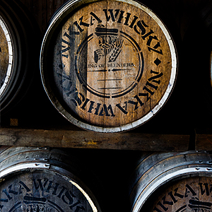 Nikka from the barrel whisky barrels aged whisky