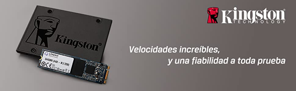 Kingston A400 SSD SA400S37/120G - Disco duro sólido interno 2.5 ...