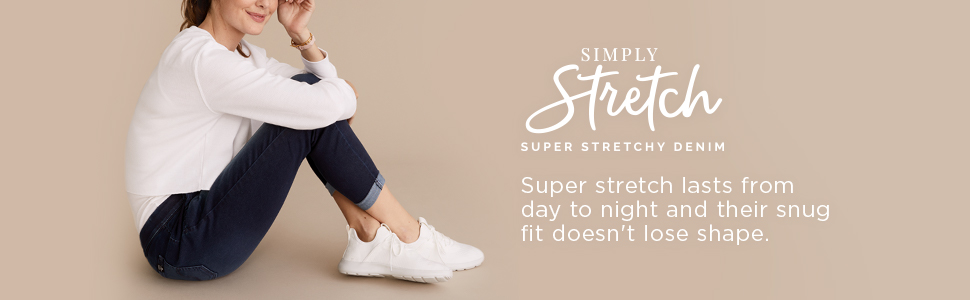 Simply Stretch, super stretch lasts from day to night