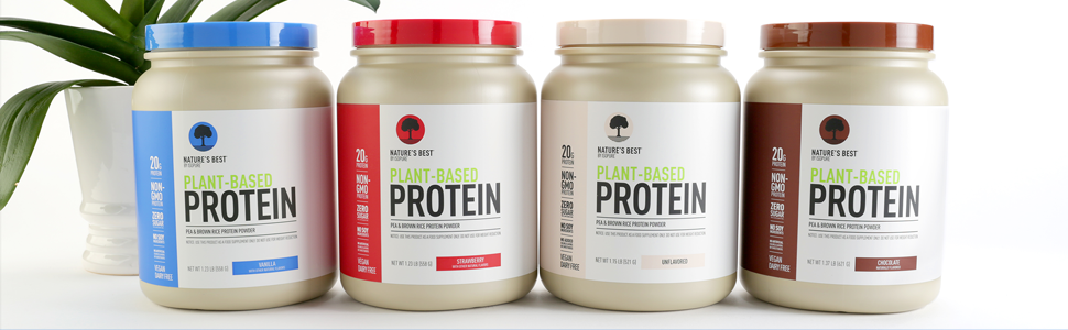 Natures Best Plant Protein Family Shot