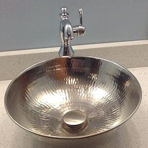nickel, sink, sinkology, bath, bathroom, vessel, Bohr