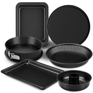 stampo plumcake realizzato in acciaio con doppio strato antiaderente 30 x 11 cm colore nero FORMEGOLOSE/™