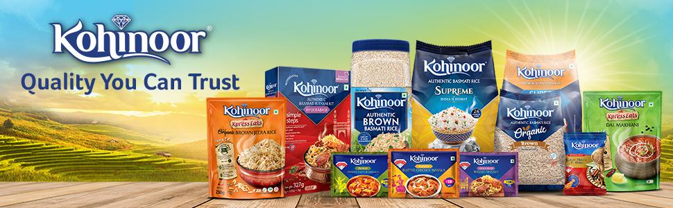 kohinoor, kohinoor rice, kohinoor masala, kohinoor spice,kohinoor ready to eat, kohinoor biryani kit