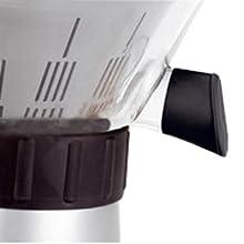 Krups Citrus Press ZX7000 Boquilla se servicio directo al vaso