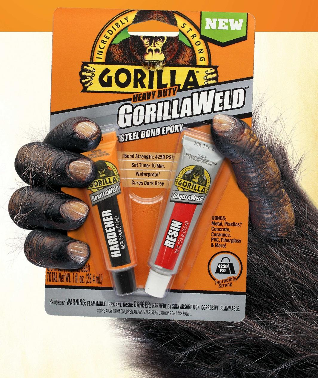 Gorilla Heavy Duty Gorillaweld Steel Bond 2 Part Epoxy Resin 280 Gram