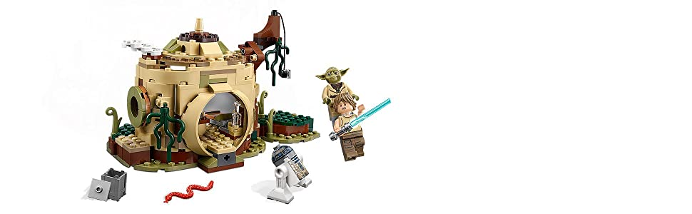 LEGO STAR WARS 75208 Yoda/'s Hut 5836-2+3Z