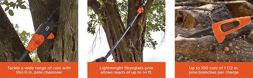 pole chainsaw