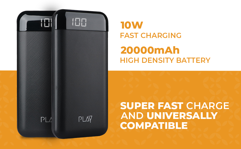 PLAY PBA20, Powerbank, fast charging