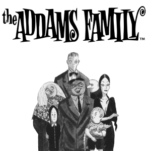Department 56 the Addams Family Logo