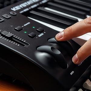 M-Audio Keystation 61MK3 - Teclado Controlador MIDI Compacto de 61 ...