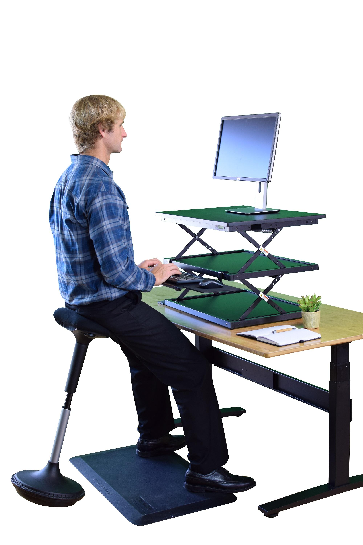 Active sitting adjustable height standing desk stool chair  sc 1 st  Amazon.com & Amazon.com : Uncaged Ergonomics Wobble Stool Adjustable Chair ... islam-shia.org