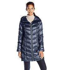 Mid-Length Packable Coat