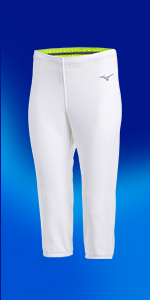 Women's Stretch Fastpitch Softball Unbelted Pants