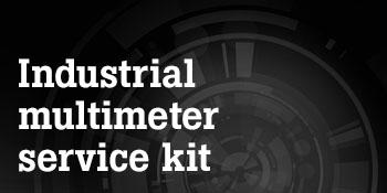fluke 87v industrial multimeter service combo kit