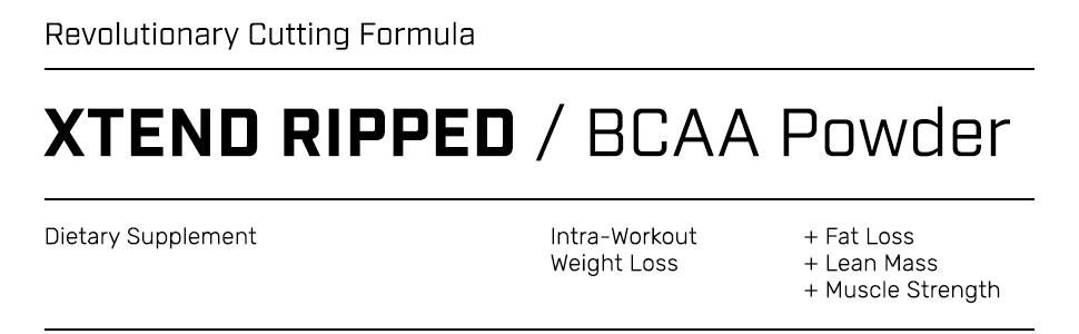 Xtend Ripped BCAA Powder