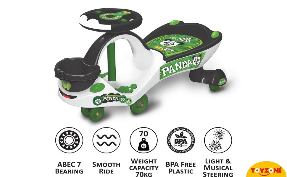 Eco Panda Magic Car 51145