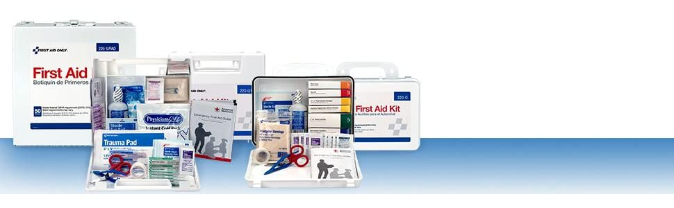 Bulk First Aid Kits: Meets OSHA Regulations.