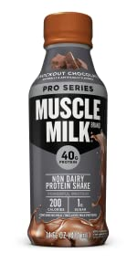 Muscle Milk Pro Series Protein Shake, Knockout Chocolate
