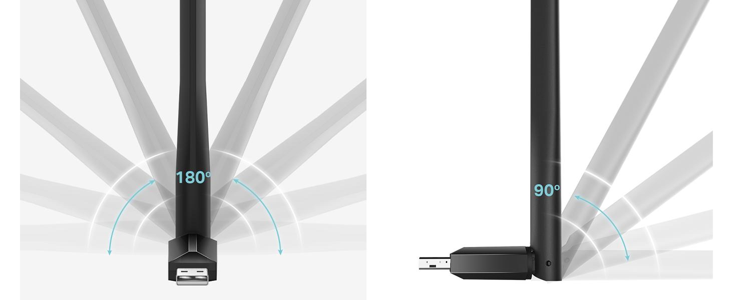 TP-Link Adaptador Wi-Fi USB 5G & 2.4G Hz, Antena Wi-Fi AC 600 Mbps, Doble Banda con Antena Externa y Señal Potente, Turbo 256QAM, ideal para Teletrabajo: Tp-Link: Amazon.es: Informática