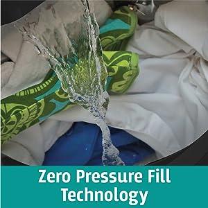 Zero Pressure Fill Technology