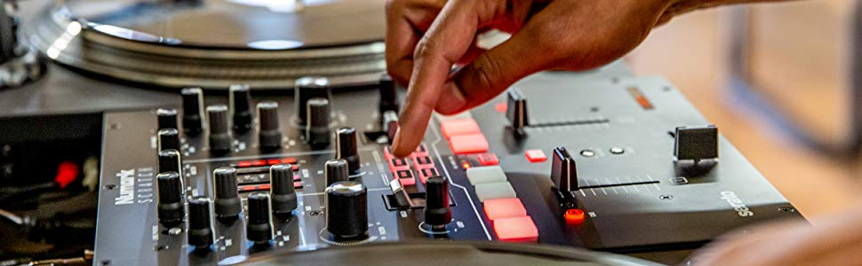 Pioneer DJ,DJM-S3,DJミキサー,DJ Mixer,ポータブル,DJコントロール,