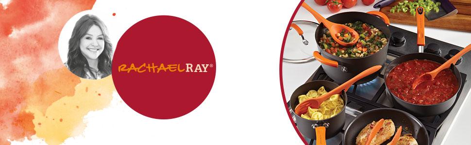 rachael ray pot and pans nonstick cookware