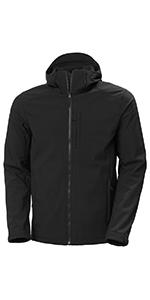 Helly Hansen Mens Paramount Hooded Softshell Jacket