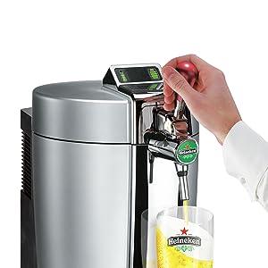 krups vb700e00 machine bi re beertender loft edition argent chrome cuisine maison. Black Bedroom Furniture Sets. Home Design Ideas