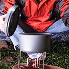 camping hiking cookware