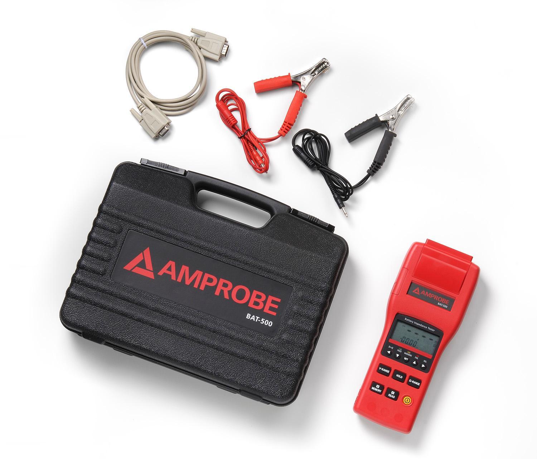 Battery Impedance Tester : Amazon amprobe bat battery impedance tester