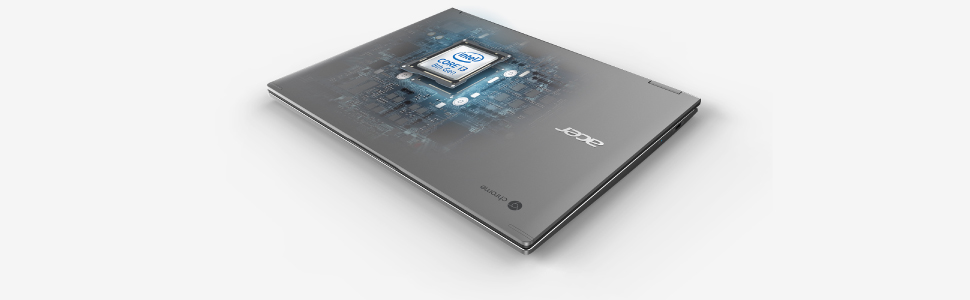 """Acer Chromebook CB713-1W-30S8 Ordinateur portable 13"""" QHD Gris (Intel Core i3, 8 GB de RAM"""