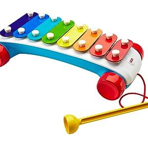 Xilofone, FishXilofone, Fisher Price, Mattelr Price, Mattel