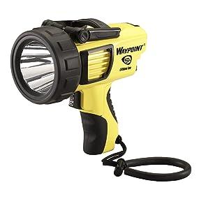 Streamlight 44910 Waypoint LED High-Performance Pistol-Grip Spotlight, Yellow