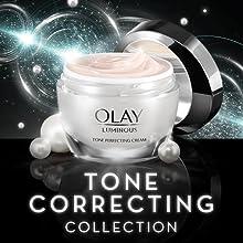 olay, oil of olay, olay luminous, luminous, brightening, tone correcting