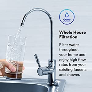 AP800 Series A+ Amazon Graphic for AP801B Whole House Filtration