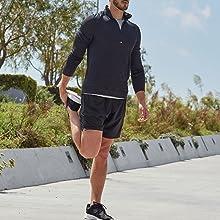 balance collection, mens shorts, mens joggers