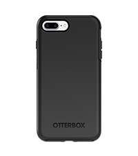 best website e0e92 6c784 OtterBox SYMMETRY CLEAR SERIES Case for iPhone 8 Plus & iPhone 7 Plus  (ONLY) - Retail Packaging - ALOHA OMBRE (SILVER FLAKE/CLEAR/ALOHA OMBRE)
