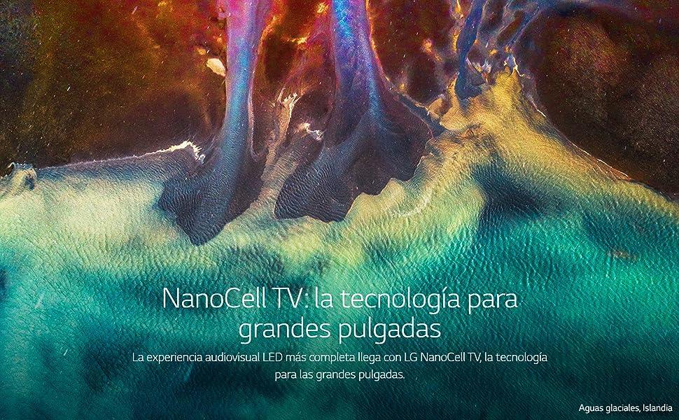 NanoCell TV: la tecnología para grandes pulgadas