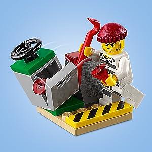 Amazoncom Lego City Sky Police Jet Patrol 60206 Building Kit New
