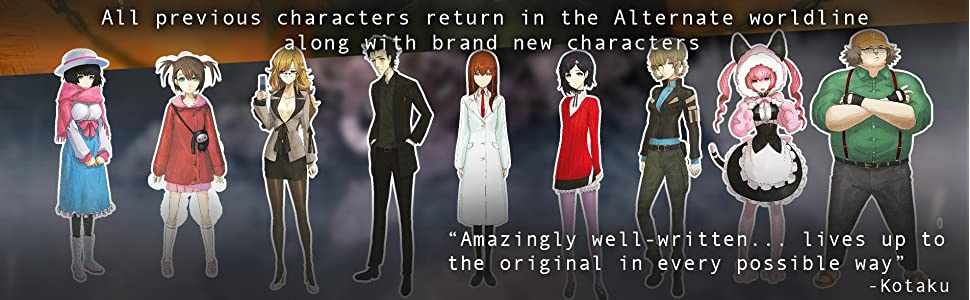Steins;Gate 0 characters