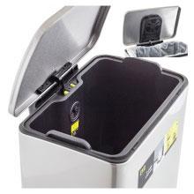 EKO; rubbish; garbage; trash; kitchen; bathroom; bin; can; stainless steel; simplehuman