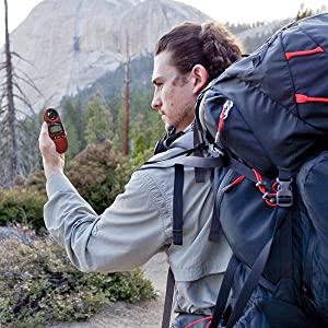 Kestrel 3000 is great for hiking, camping, and outdoor adventures