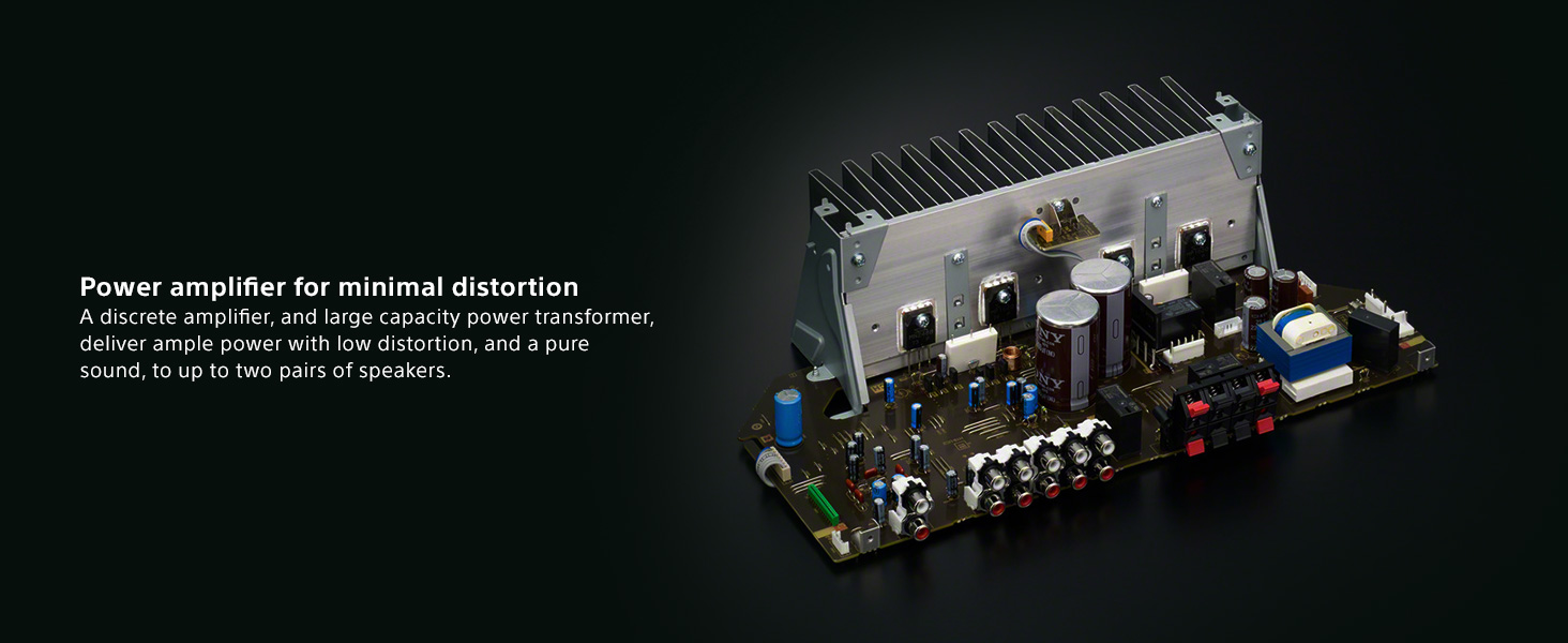 Sony Strdh190 2 Ch Stereo Receiver With Phono Inputs Circuit Design Good Quality Bluetooth Solution Provider Products Previous Page