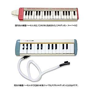 メロディオンは国内初の鍵盤ハーモニカとして1961年に誕生しました。